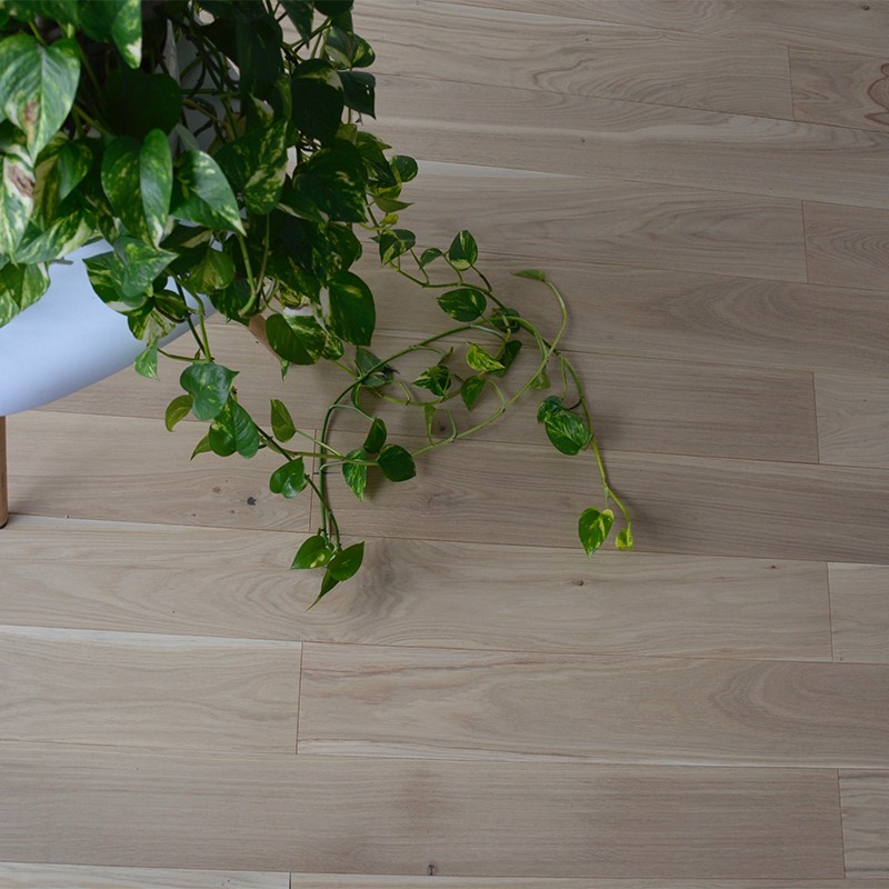 Parquet chêne contrecollé mono lame verni ASPECT BOIS BRUT MAT avec chanfreins