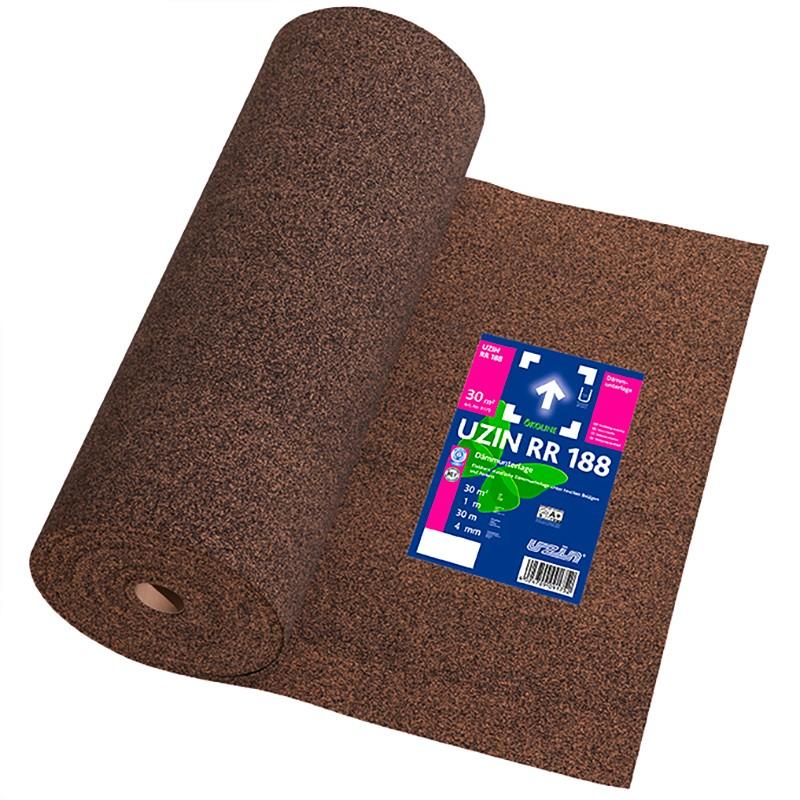 Sous couche acoustique liège 2 mm pour parquet - Evolution Bois