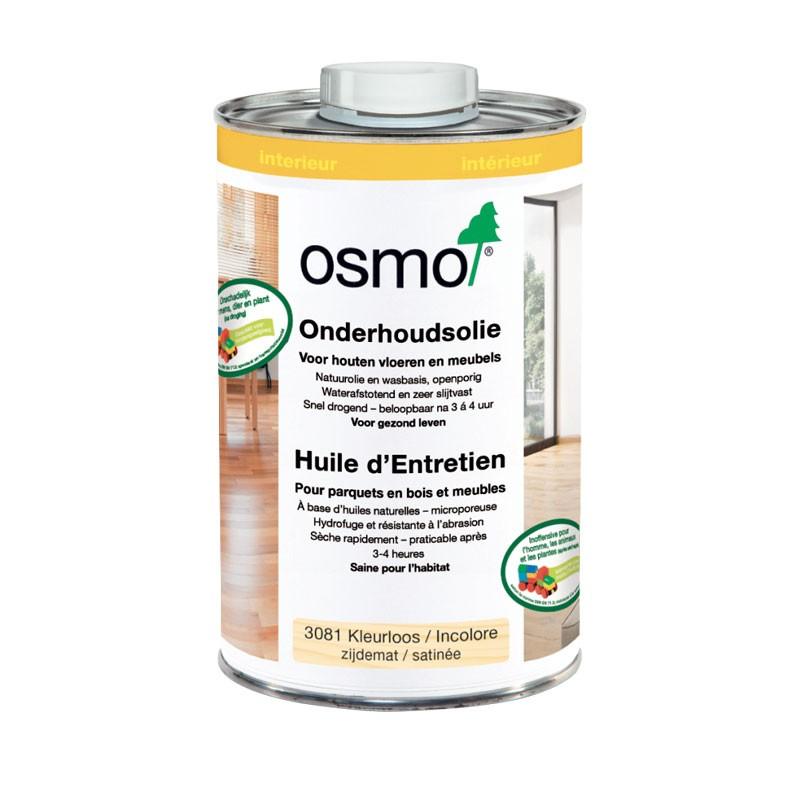 Huile d'entretien incolore mat Osmo