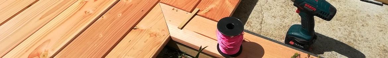 Accessoires pour terrasse bois