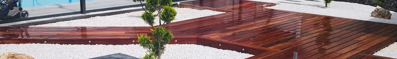 Terrasse bois - exotique - résineux